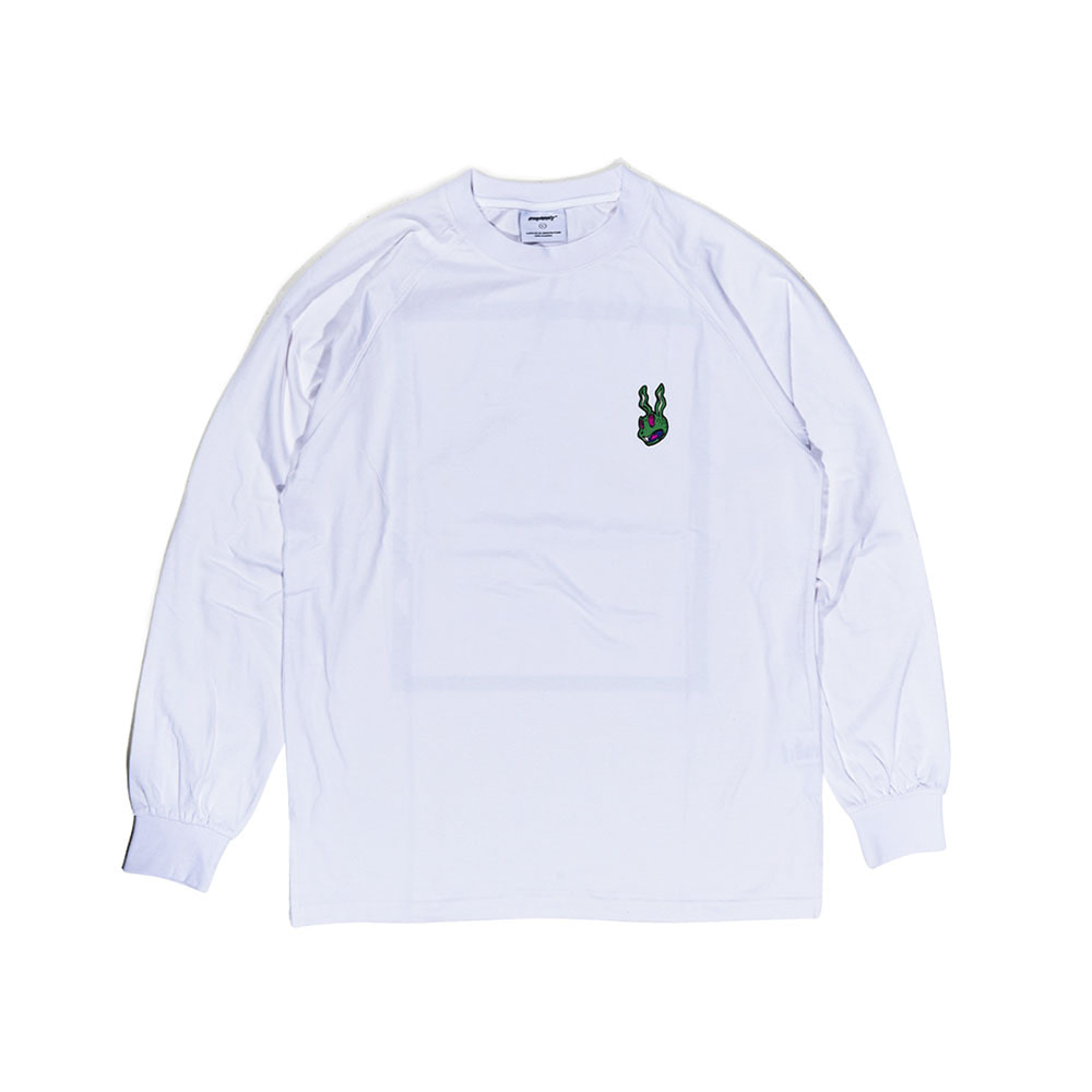TRIPPY LONG SLEEVE WHITE