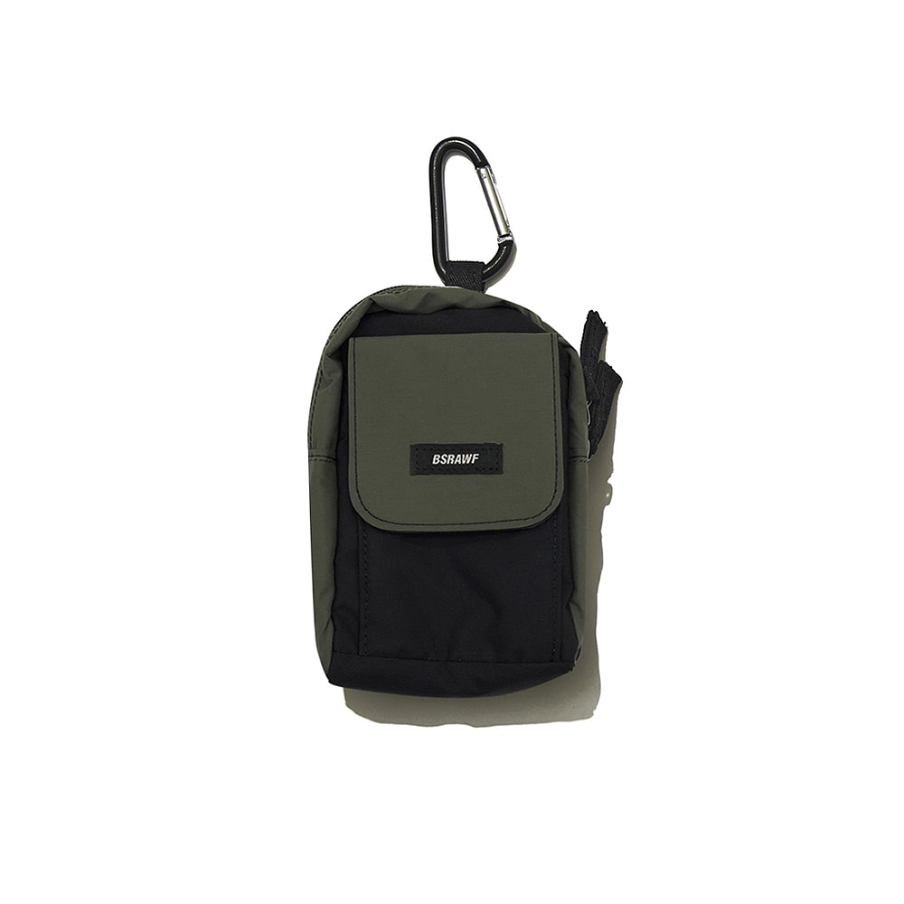 UTILITY SMALL BAG KHAKI BLACK
