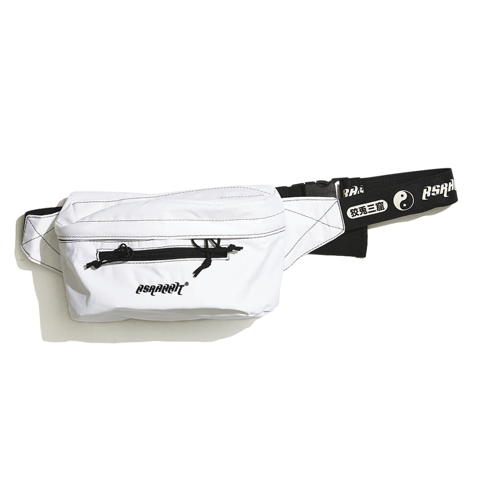 BSRABBIT IDEAL WAIST BAG WHITE