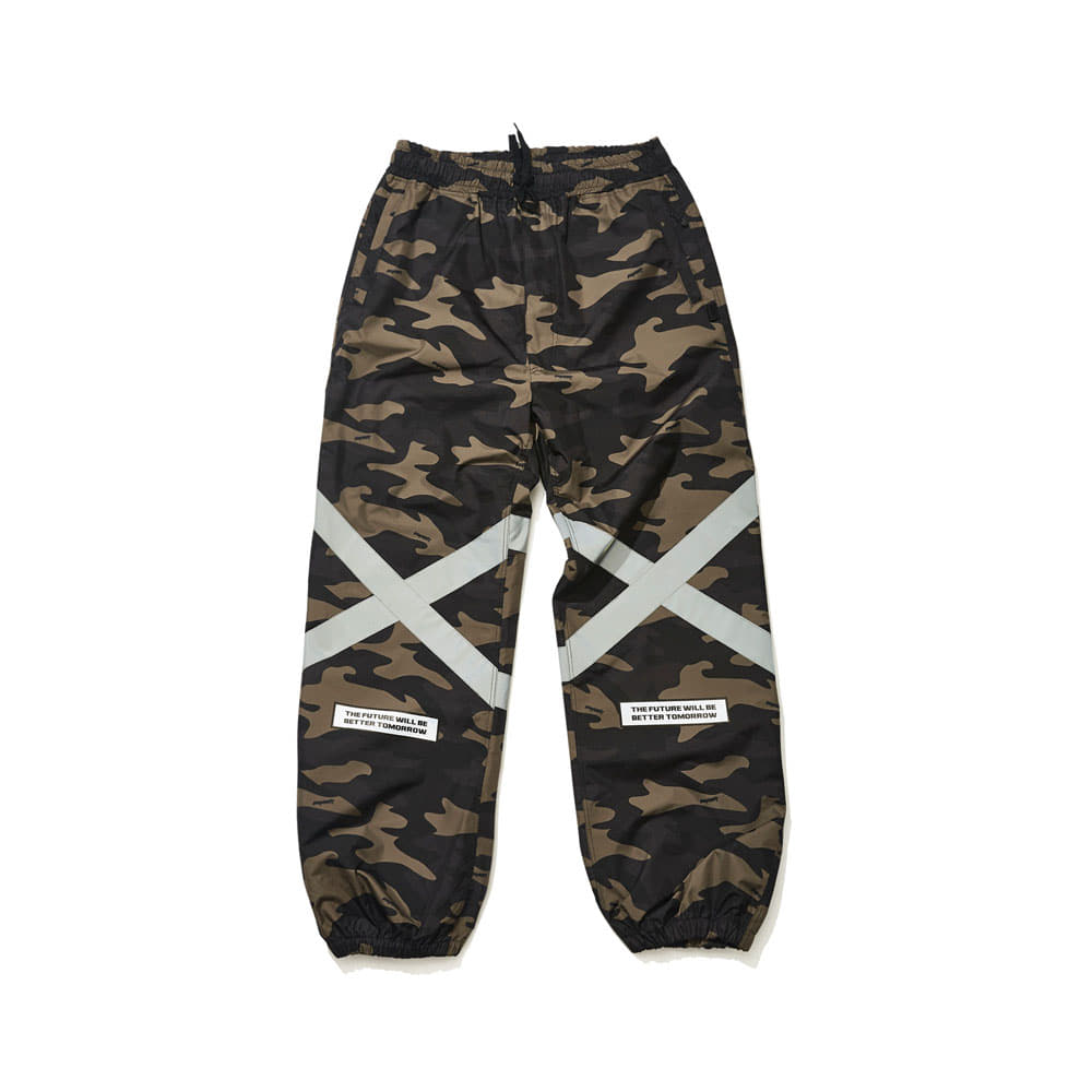 POT-X REFLECTIVE JOGGER PANTS CAMO