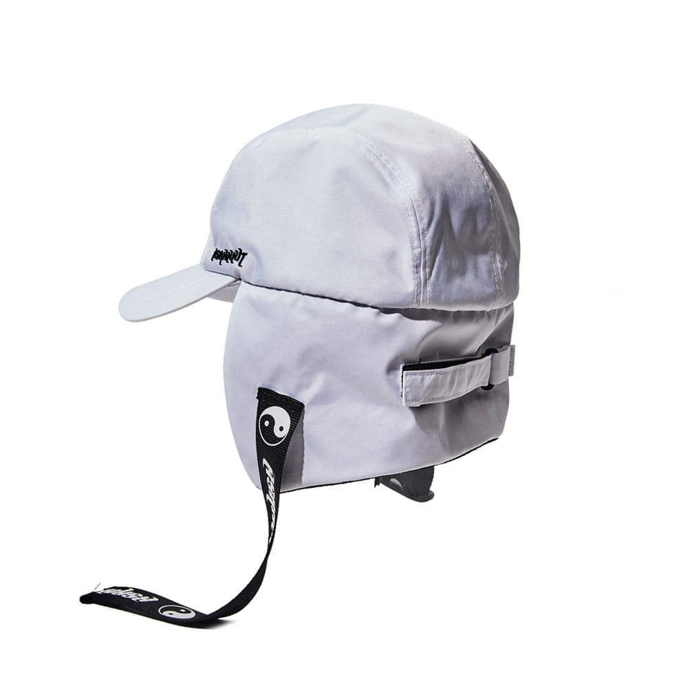 BSR EARFLAP CAP WHITE