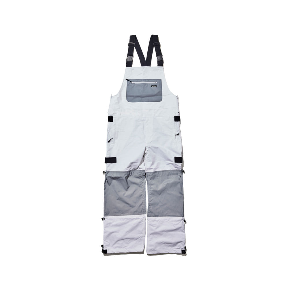 BSR INCREDIBLE TRANSFORM BIB PANTS WHITE