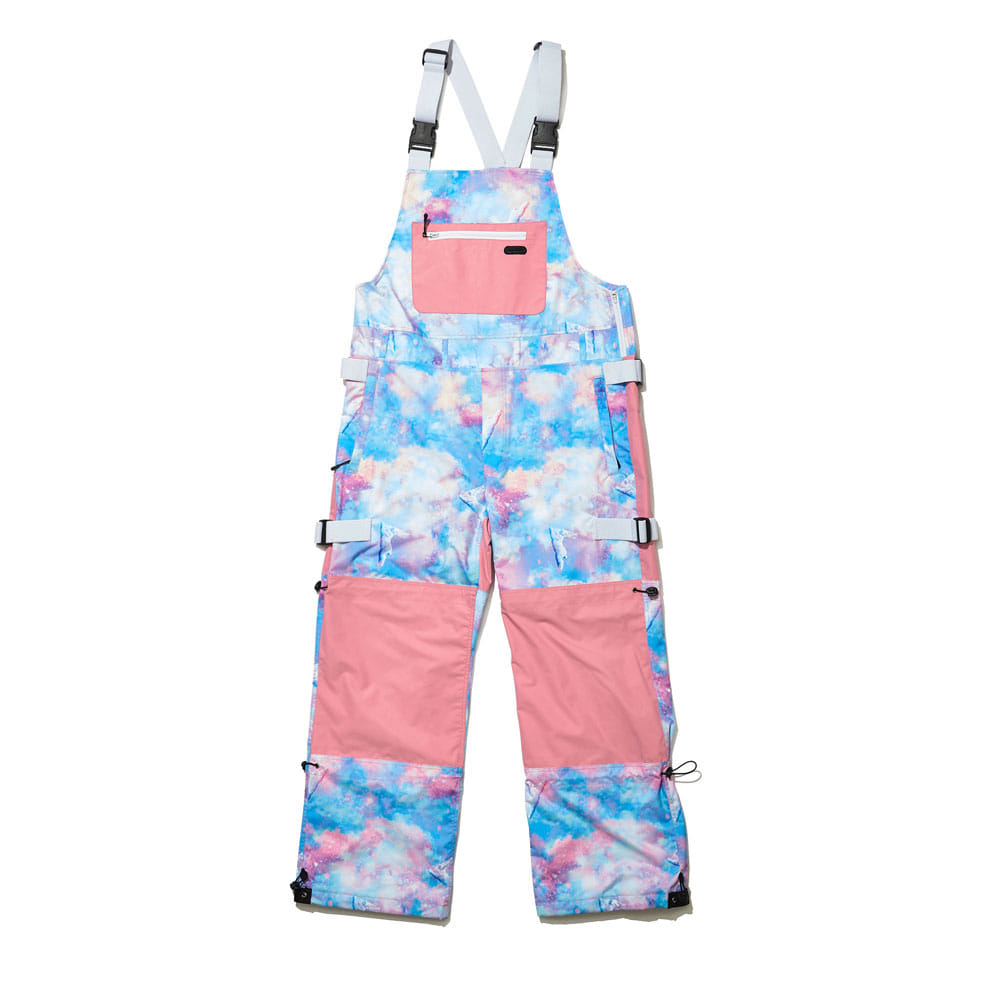 BSR INCREDIBLE TRANSFORM BIB PANTS FANTASY PINK