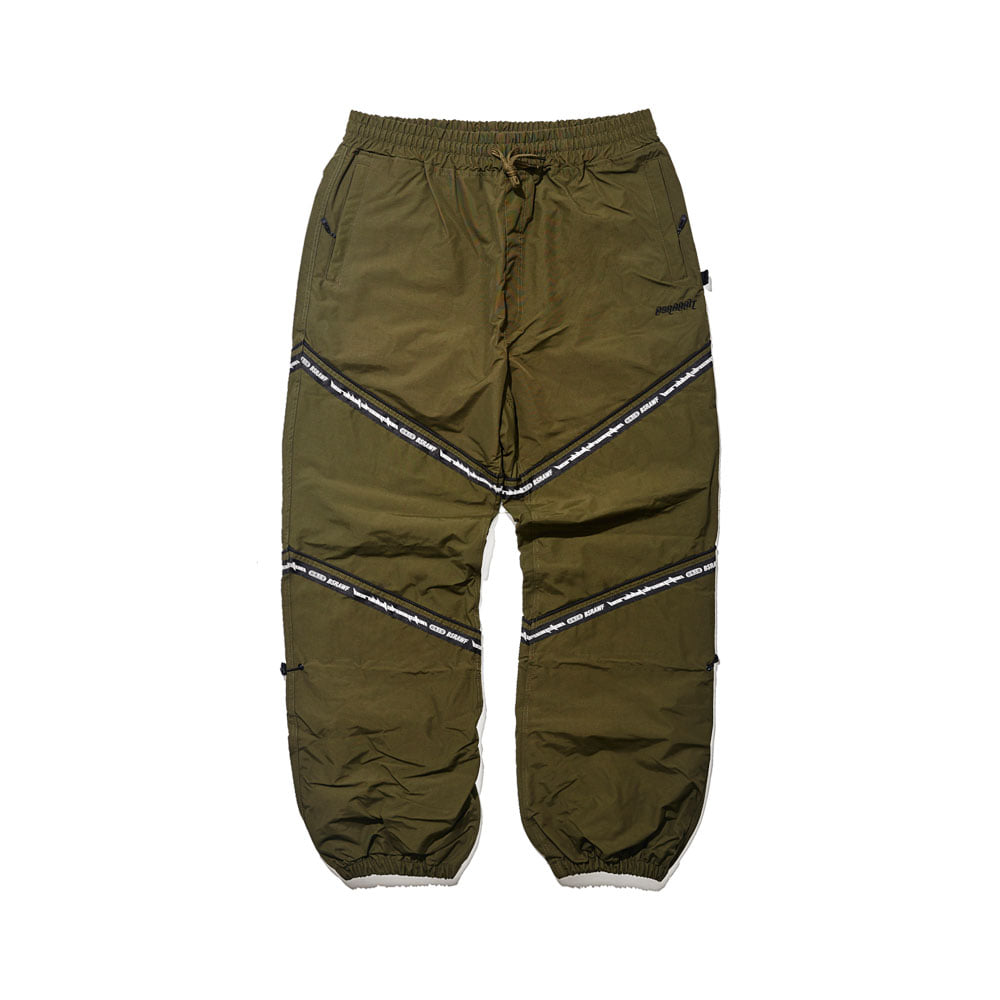 BSR TRANSFORM BOX MULTI JOGGER PANTS LINE KHAKI