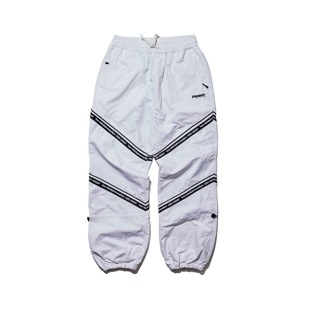 BSR TRANSFORM BOX MULTI JOGGER PANTS LINE WHITE