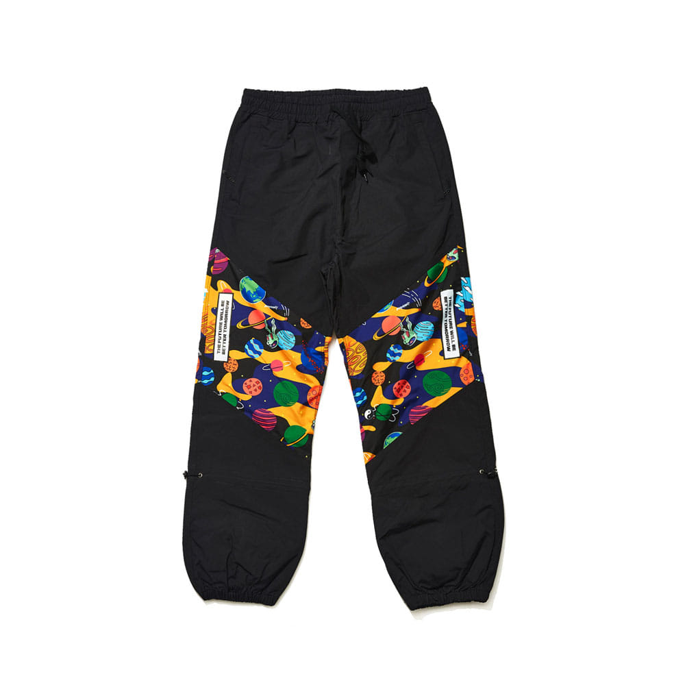 BSR TRANSFORM BOX MULTI JOGGER PANTS BLACK