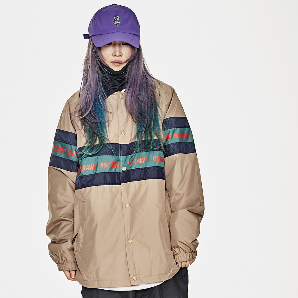 BSRAWF LINE COACH JACKET BROWN