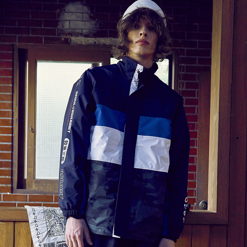 COMPETITIVE JACKET REFLECTIVE BLUE