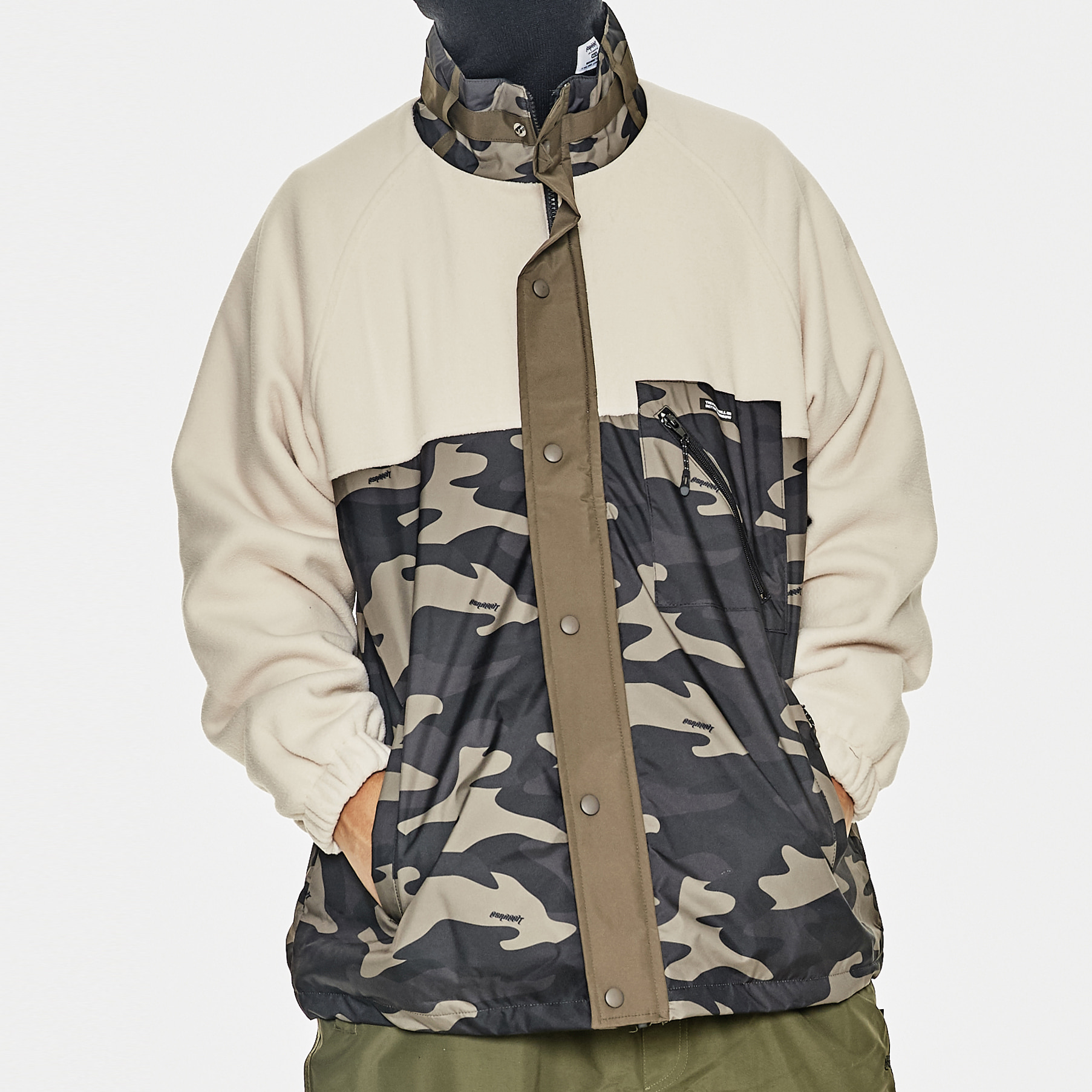 SENSUAL FLEECE JACKET CAMO