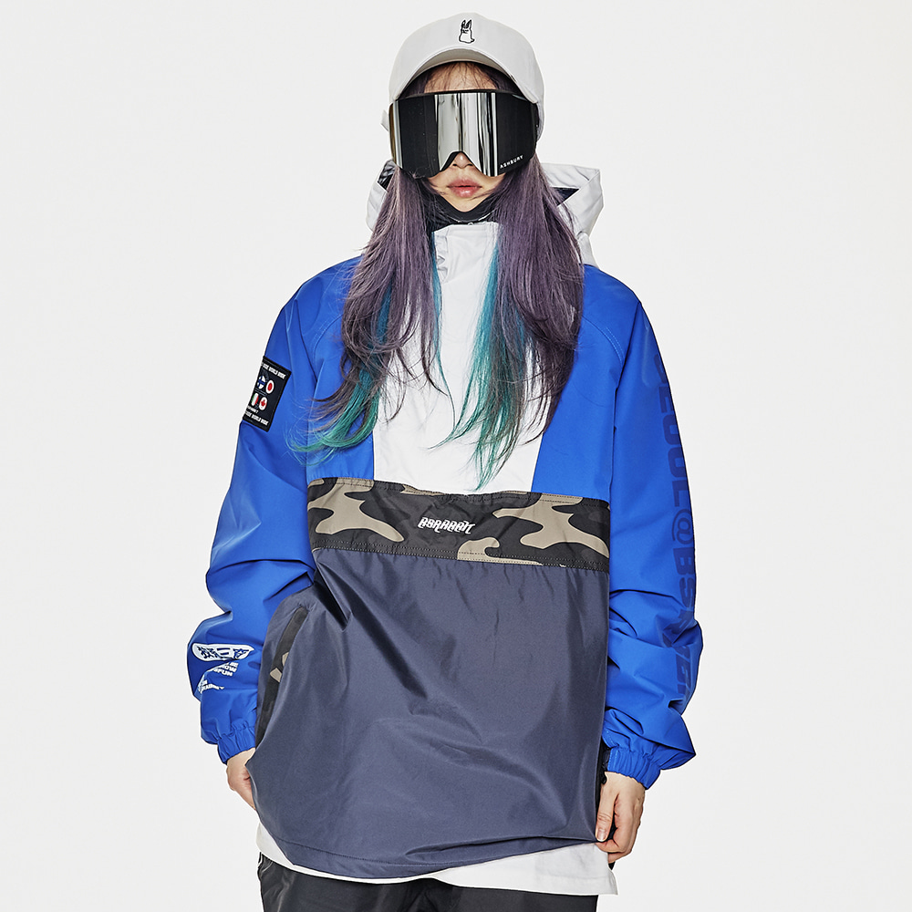 BSR RUN ANORAK BLUE/NAVY