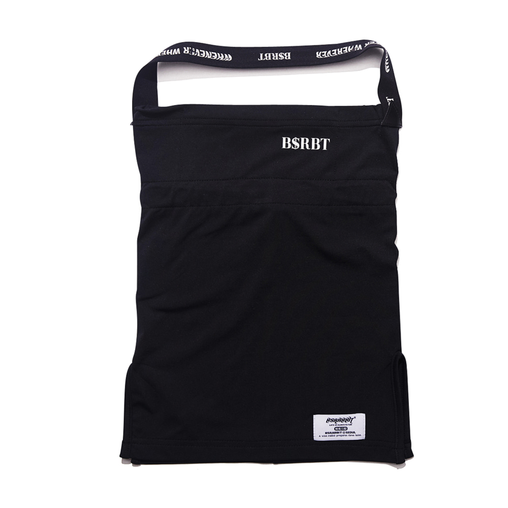BSRBT V-LINE INNER POCKET LOGO BAND BALACLAVA [BLACK BAND] [No.1] [필터교체형]