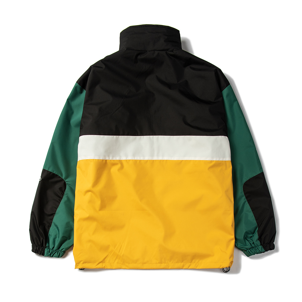 RTR ANORAK JACKET B/YELLOW