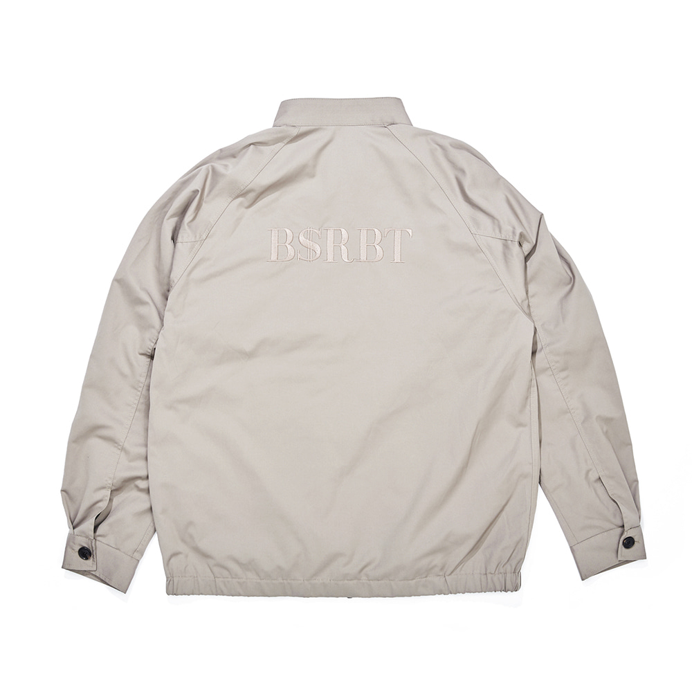 OG LOGO HARRINGTON JACKET SAND