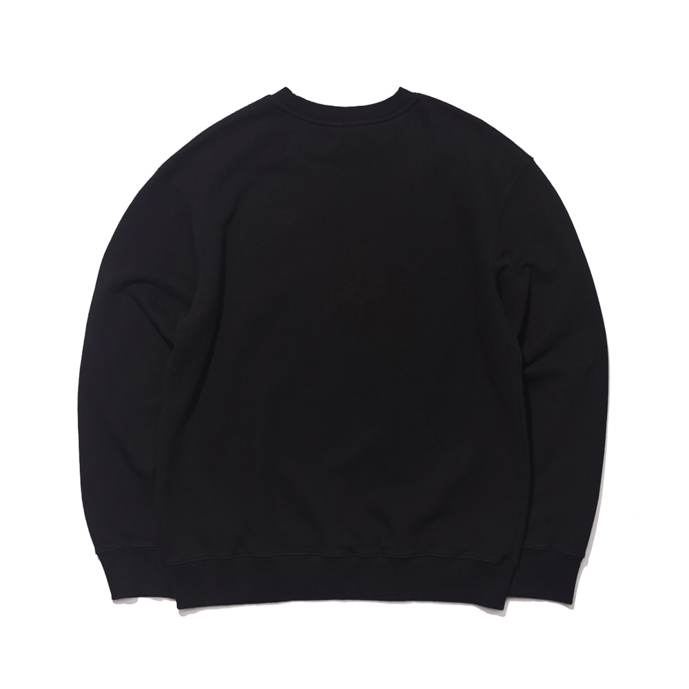 GR WELCOME DRY SWEAT SHIRT BLACK