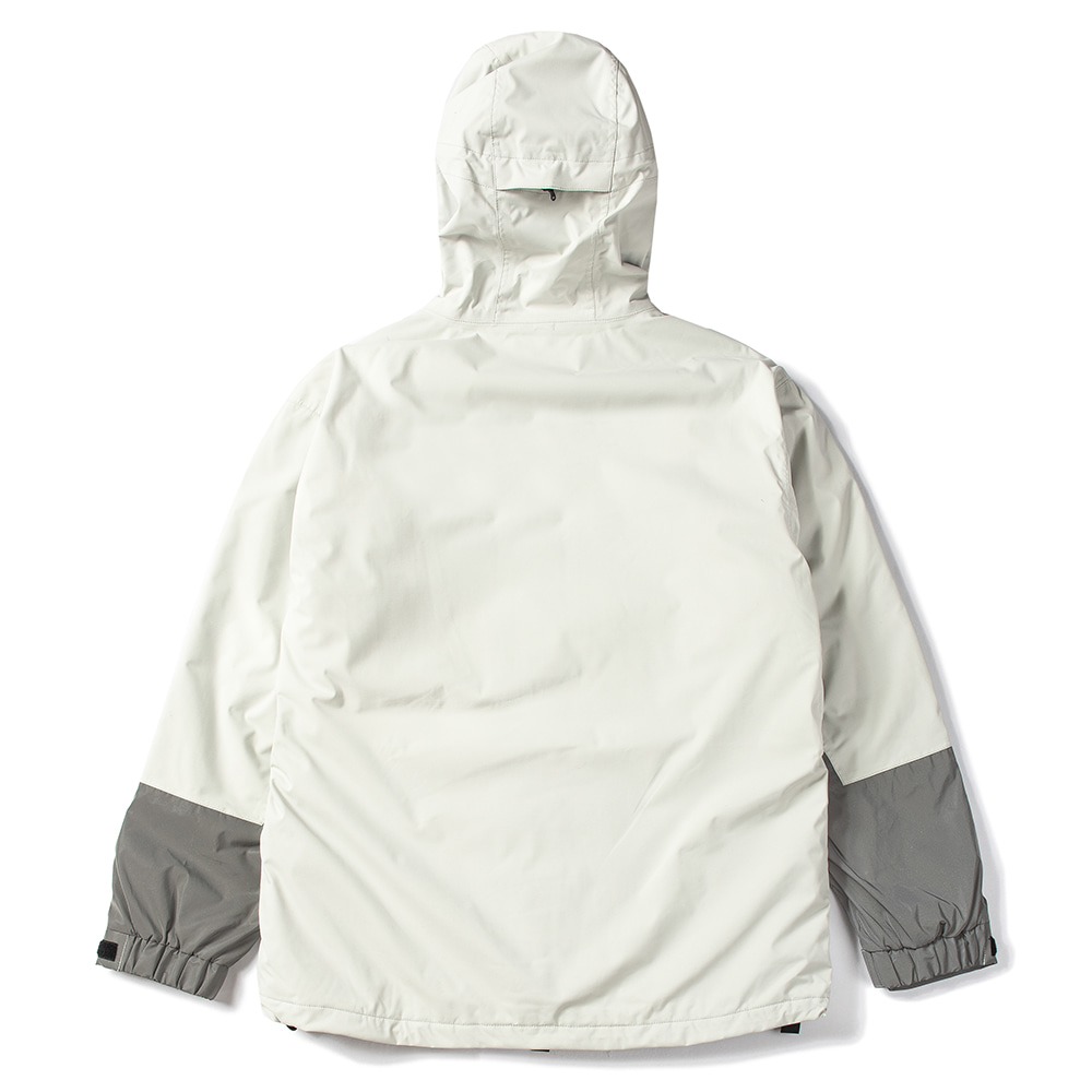 MOUNTAIN POW JACKET LIGHT GRAY