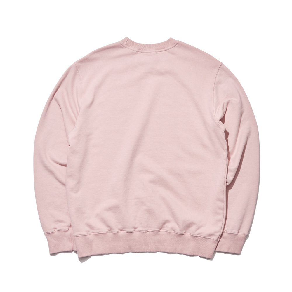 GR WELCOME DRY SWEAT SHIRT INDIPINK