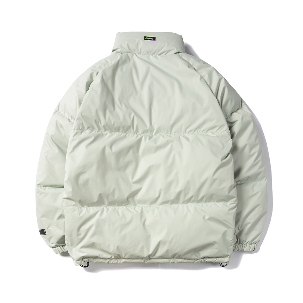 COZY DUCK DOWN PARKA GRAY