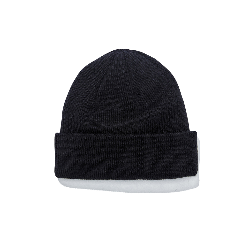 TRIPPY RABBIT BEANIE BLACK