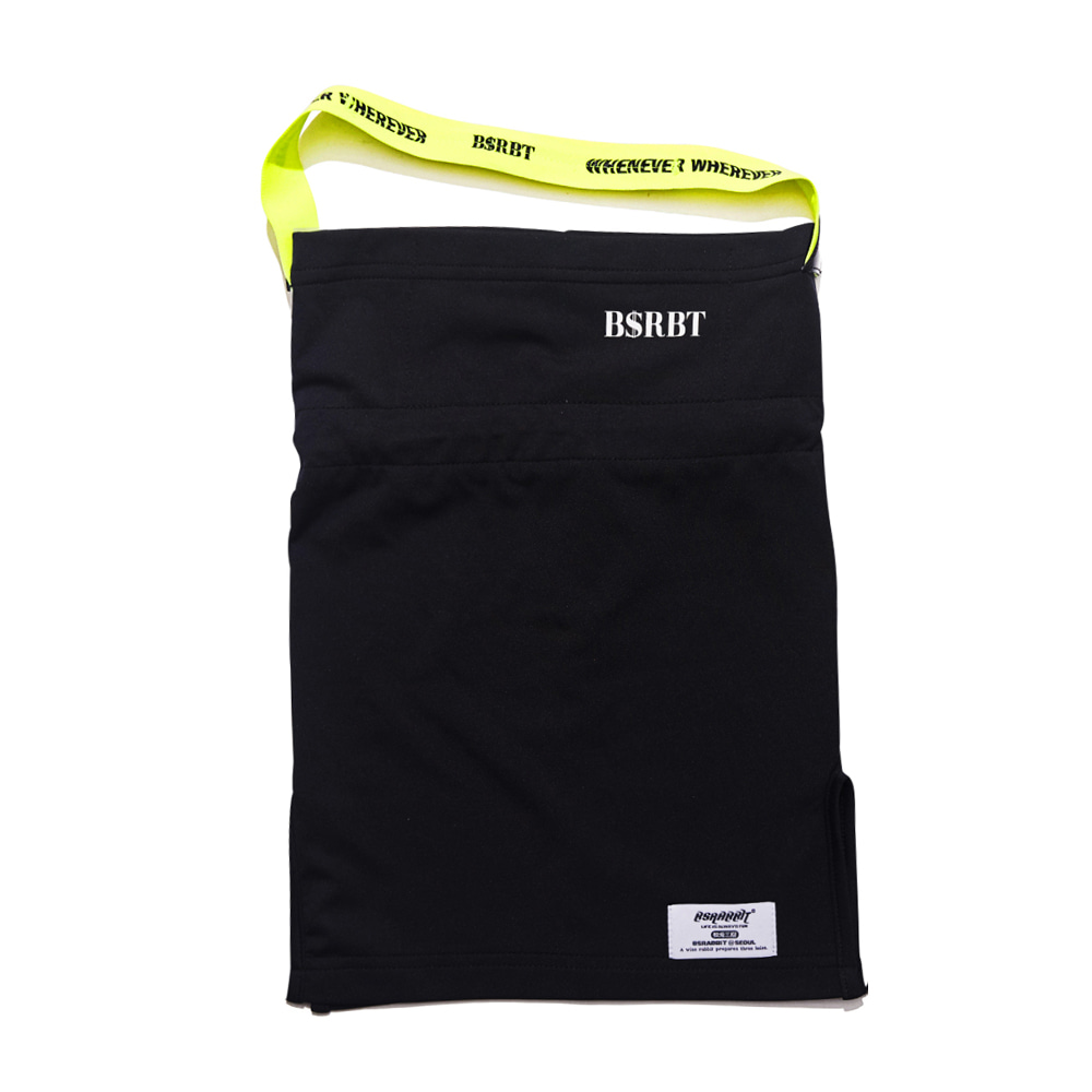 BSRBT V-LINE INNER POCKET LOGO BAND BALACLAVA [FLUORESCENCE BAND] [No.2] [필터교체형]