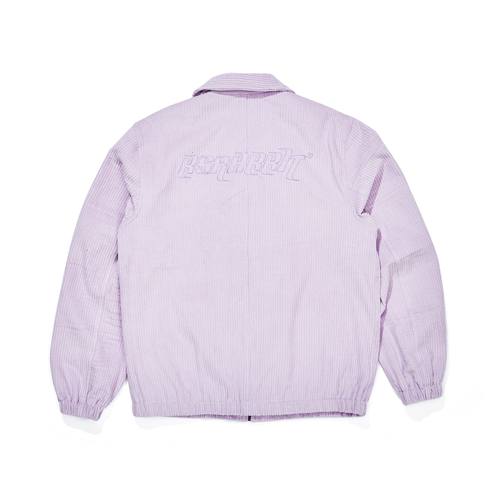CORDUROY COLLAR JACKET PURPLE