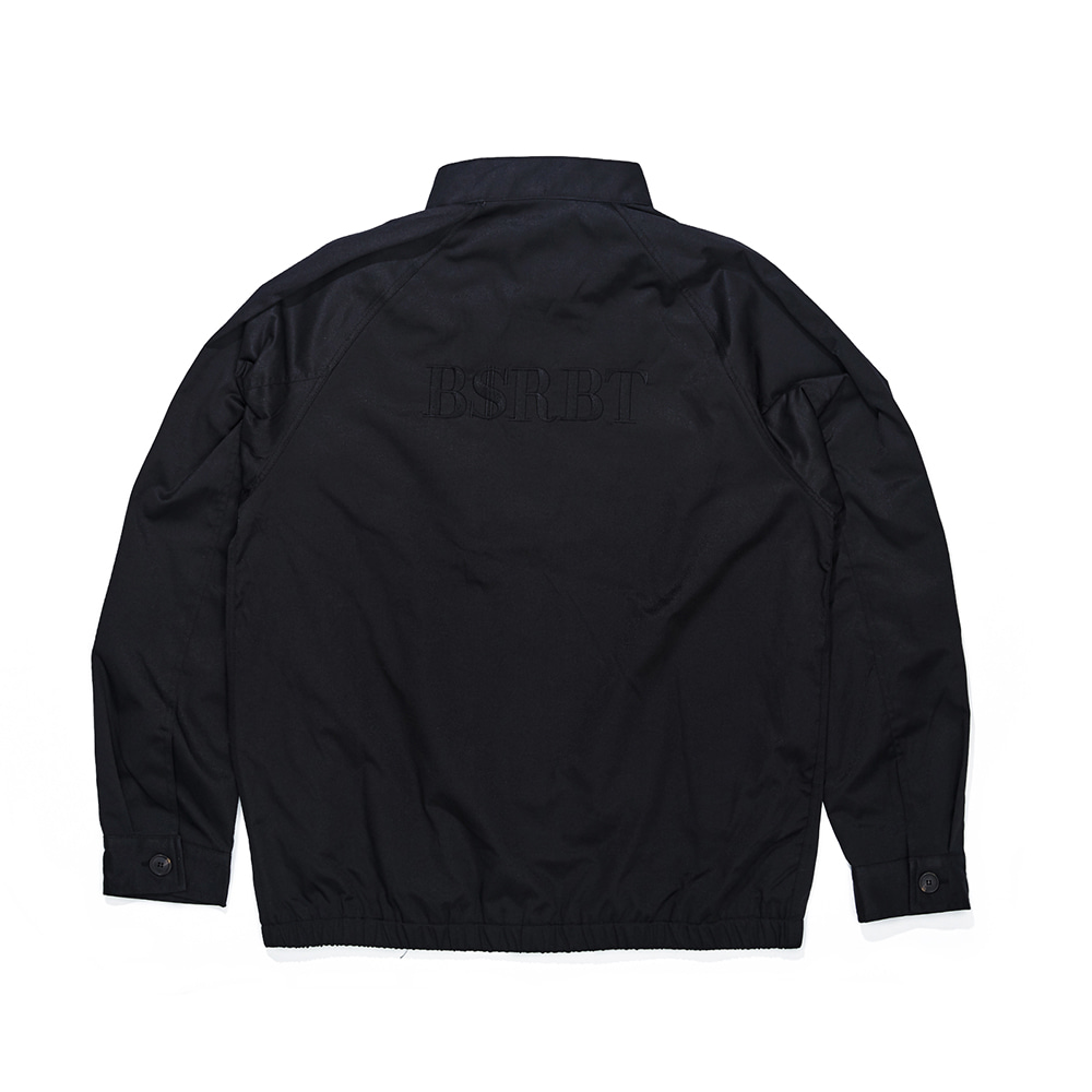 OG LOGO HARRINGTON JACKET BLACK