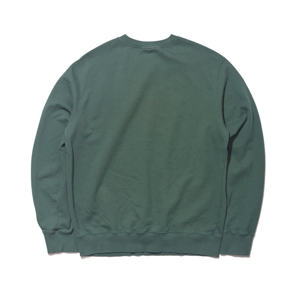 GR WELCOME DRY SWEAT SHIRT GREEN