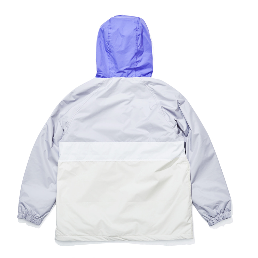 OPTD ANORAK JACKET LIGHT GRAY