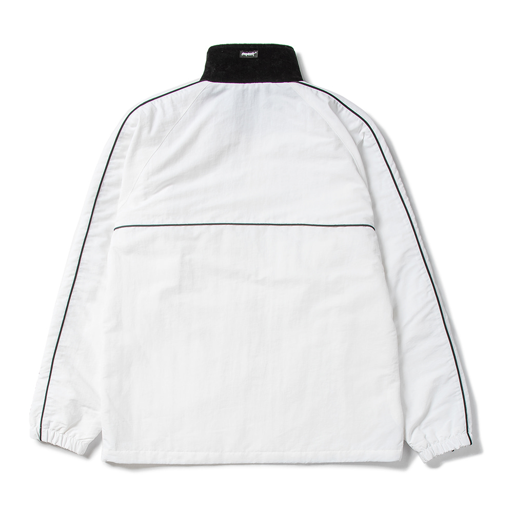 BL TRACK JACKET WHITE