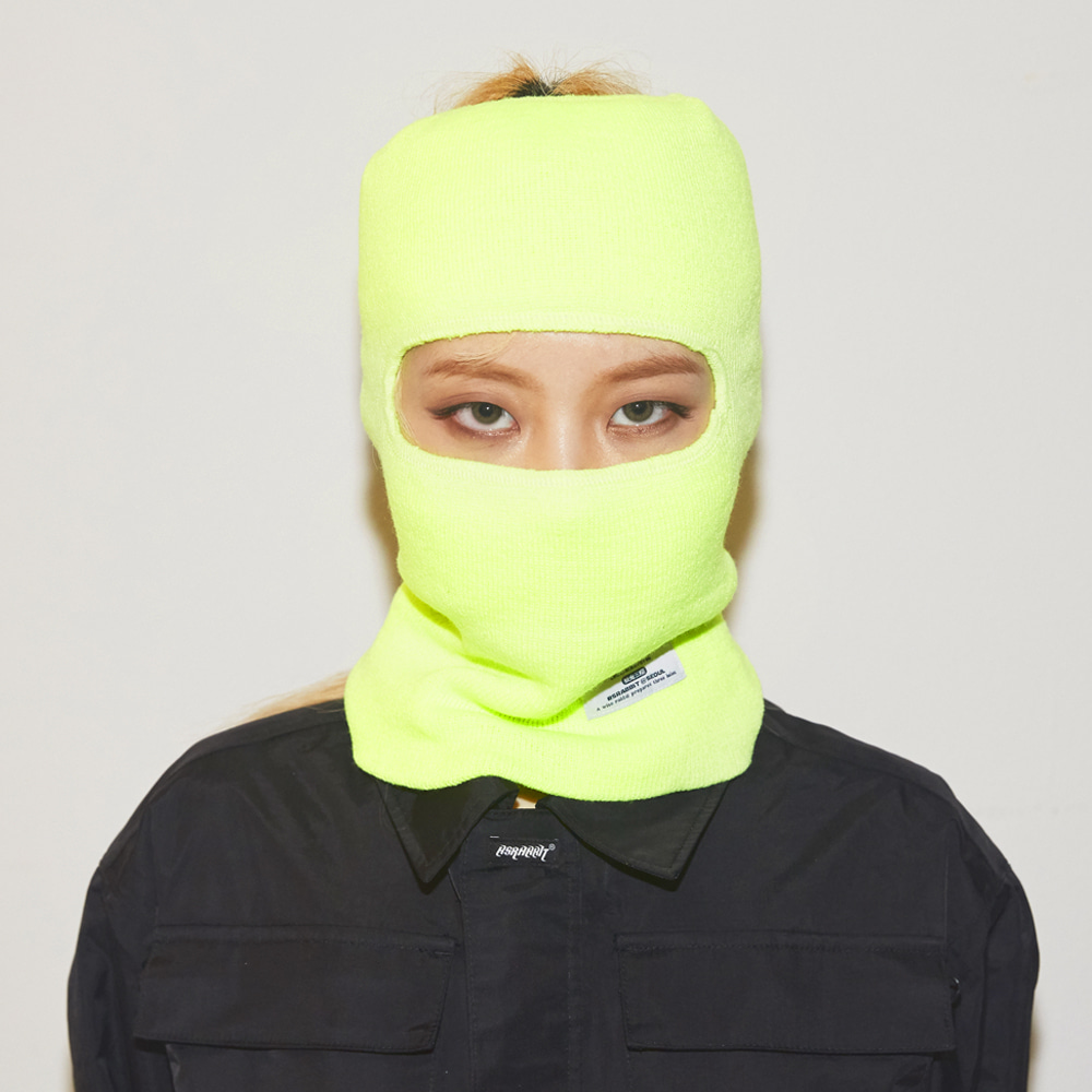 OPEN FACE MASK FLUORESCENCE