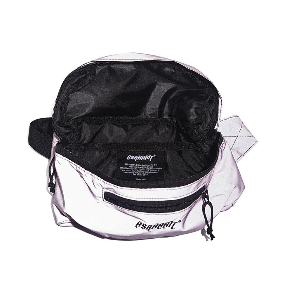 BSRBT IDEAL WAIST BAG PINK REFLECTIVE