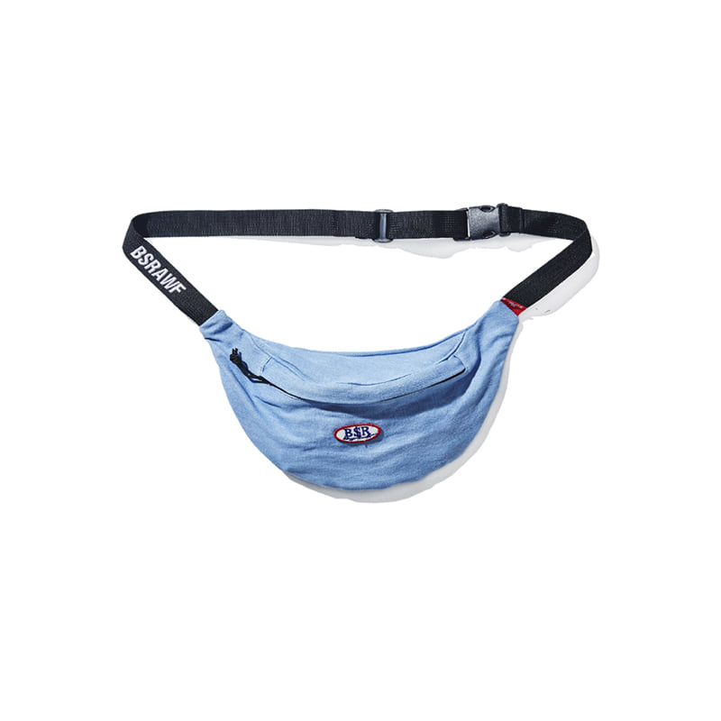 BSR DENIM WAISTBAG SKYDENIM