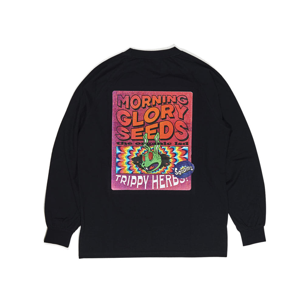 TRIPPY LONG SLEEVE BLACK