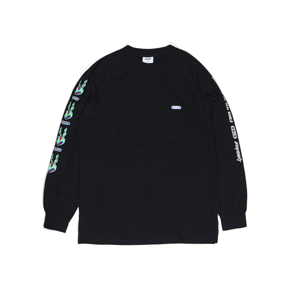 REGR LONG SLEEVE BLACK