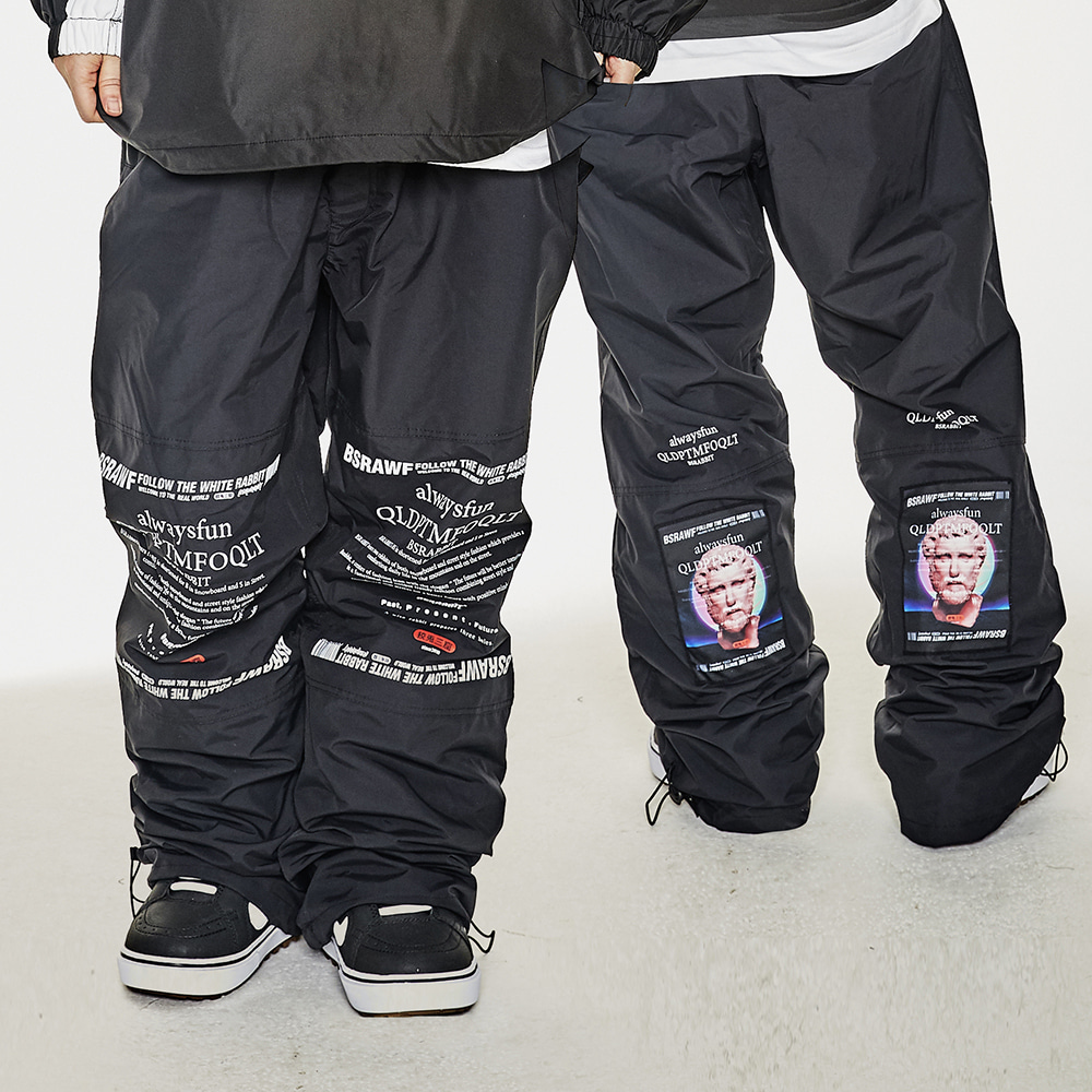 BSR WORK TRACK PANTS BLACK