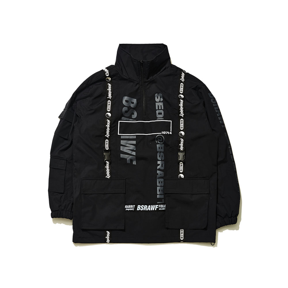 BSRAWF HUNTING JACKET BLACK