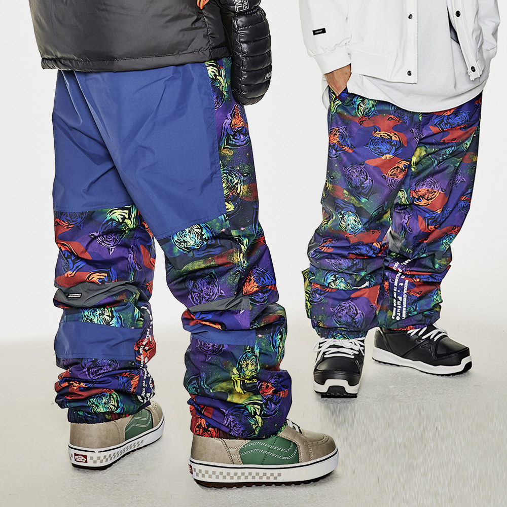 BSR ACTIVE JOGGER PANTS TIGER CAMO
