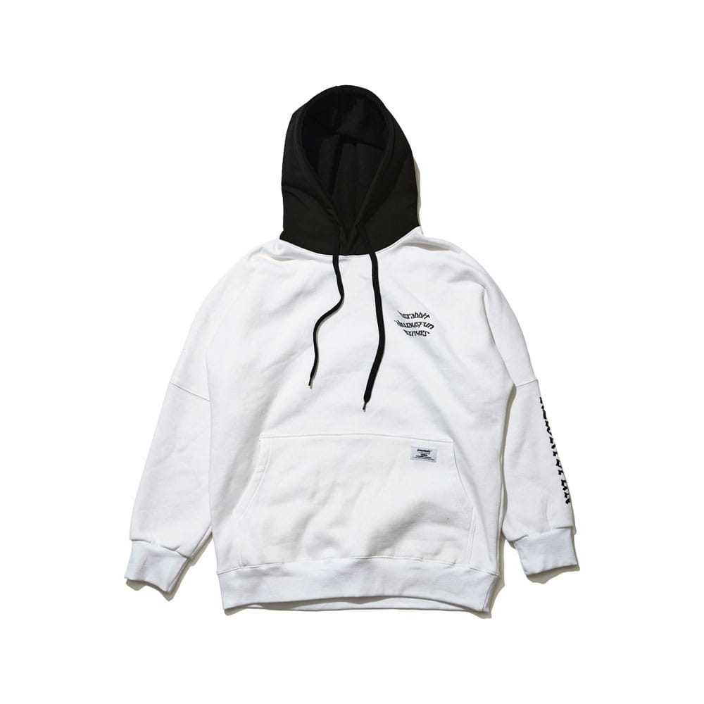 WELCOME WATERPROOF HOODIE WHITE