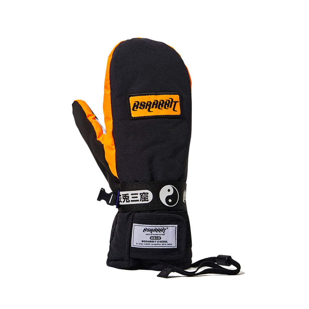 LOGO SO SNOWBOARD GLOVE BLACK