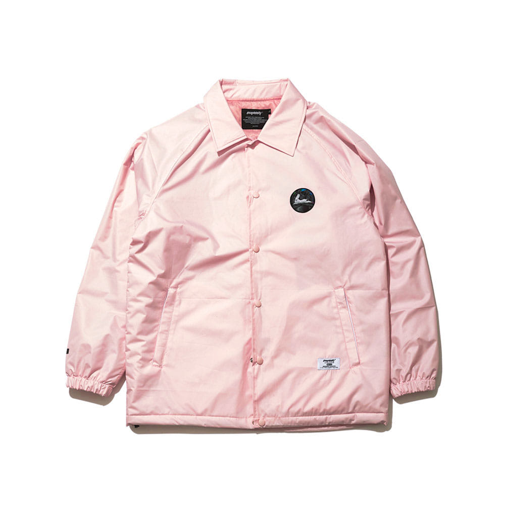 BSR WARM COACH JACKET INDY PINK