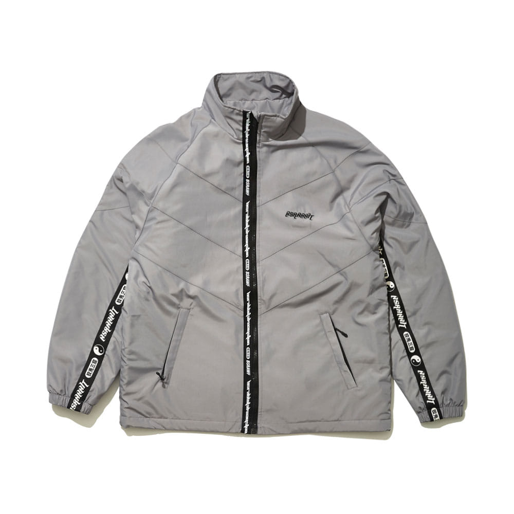 RELAXED TRACK JACKET GRAY