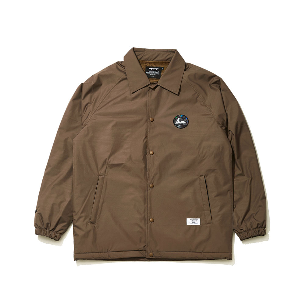 BSR WARM COACH JACKET KHAKI