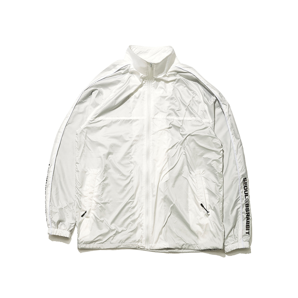 BSR LIGHT TRACK JACKET WHITE