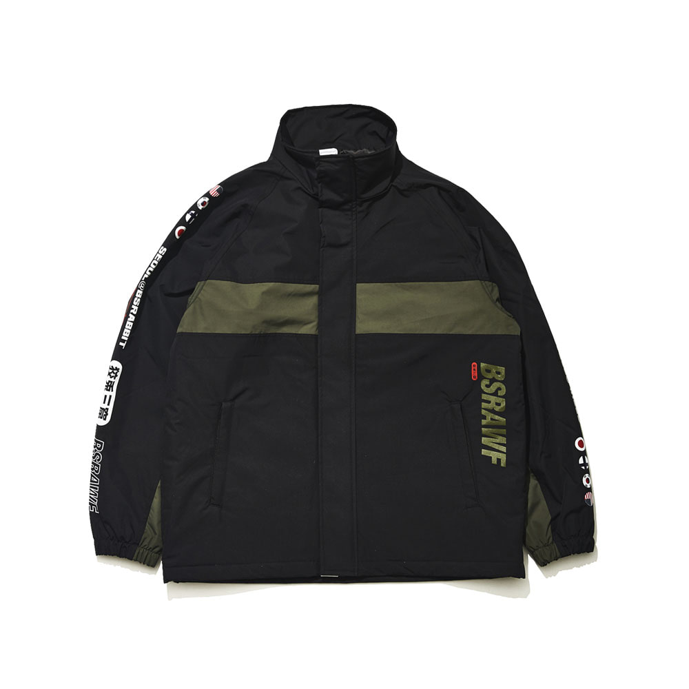 COMPETITIVE JACKET REFLECTIVE BLACK