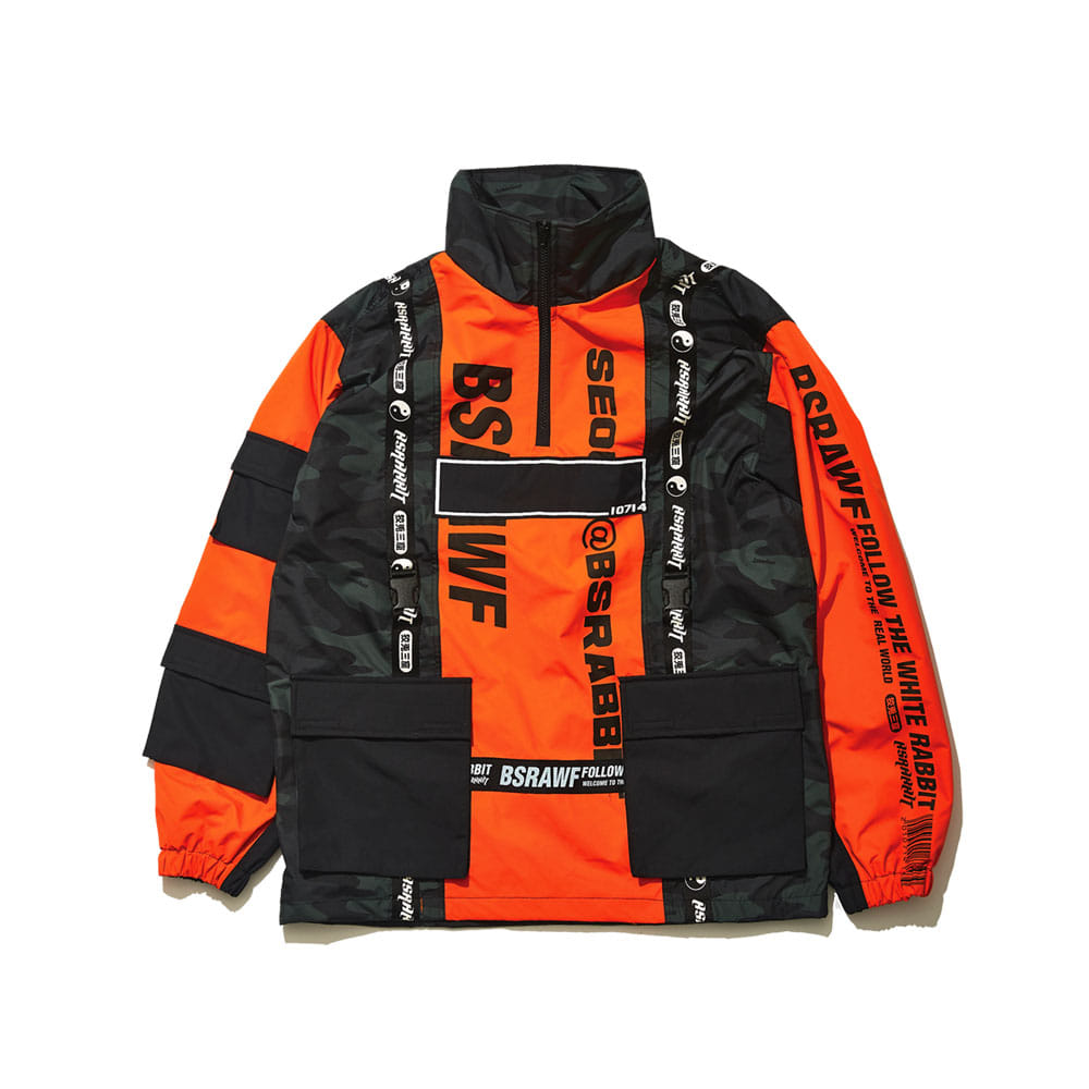 BSRAWF HUNTING JACKET ORANGE