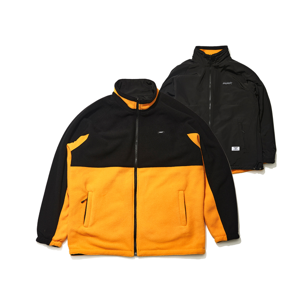 TOASTY FLEECE REVERSIBLE JACKET BLACK/BLACK