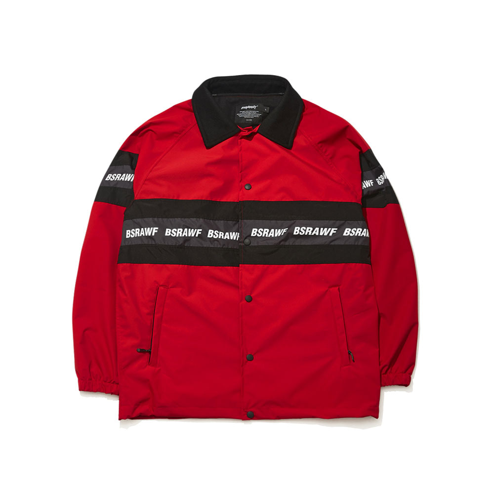 BSRAWF LINE COACH JACKET RED
