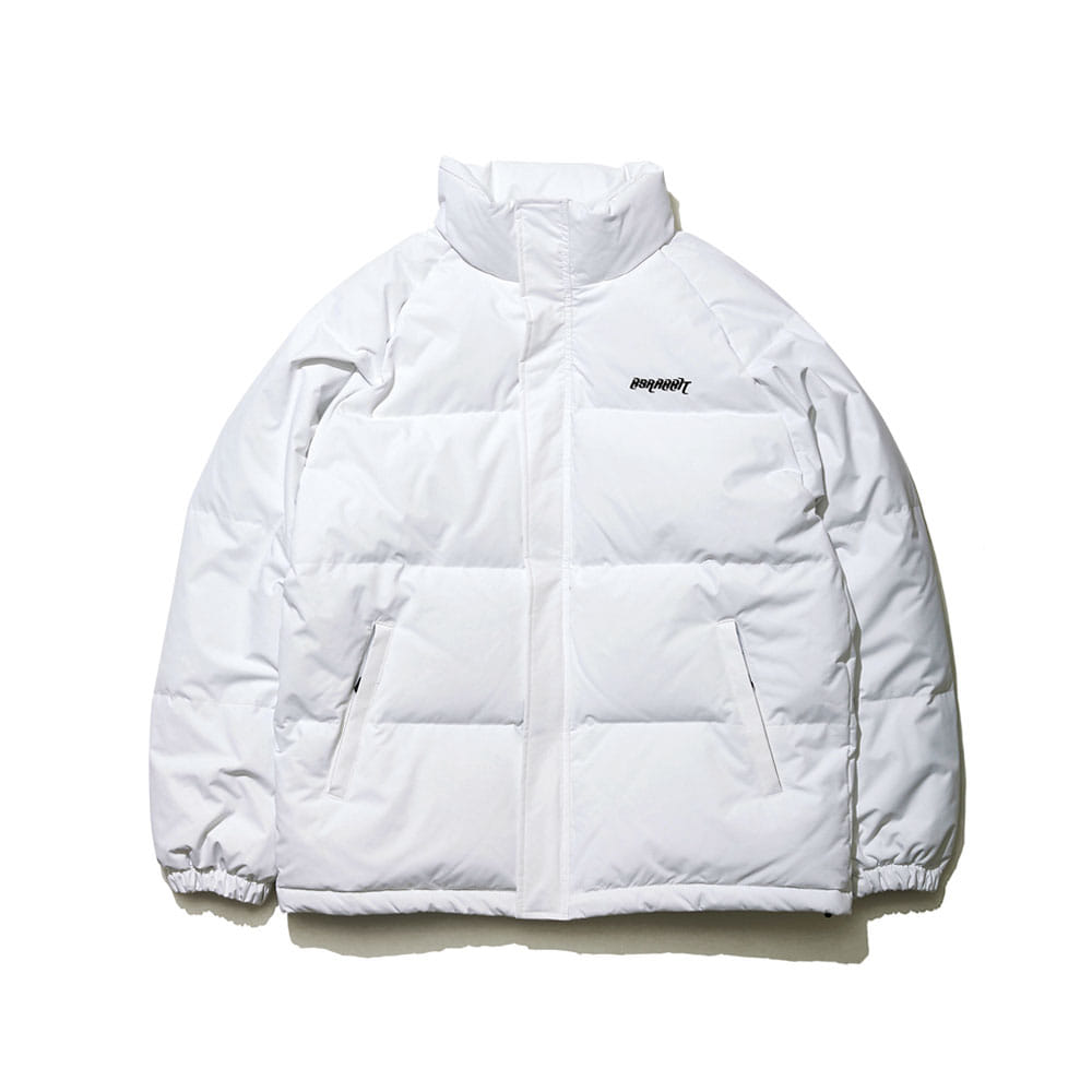 BSR DUCK DOWN PARKA WHITE
