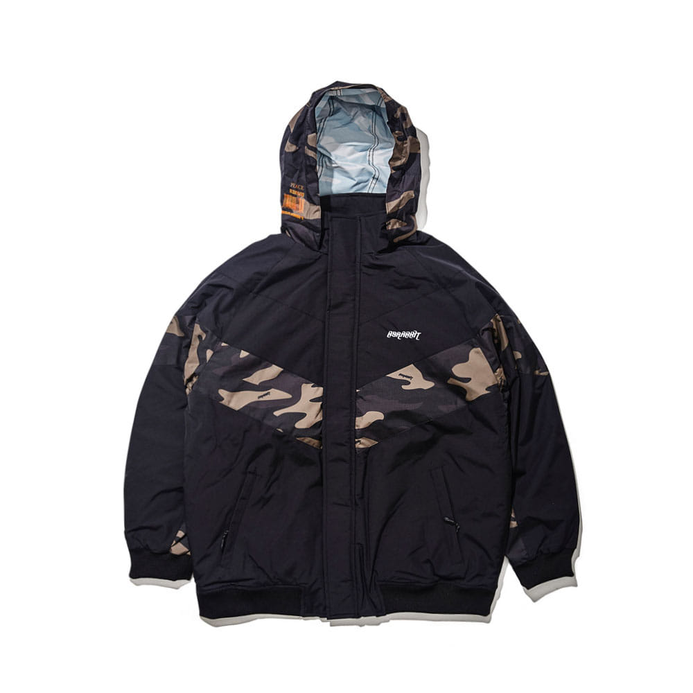 BSR MIGHT JACKET CAMO BLACK