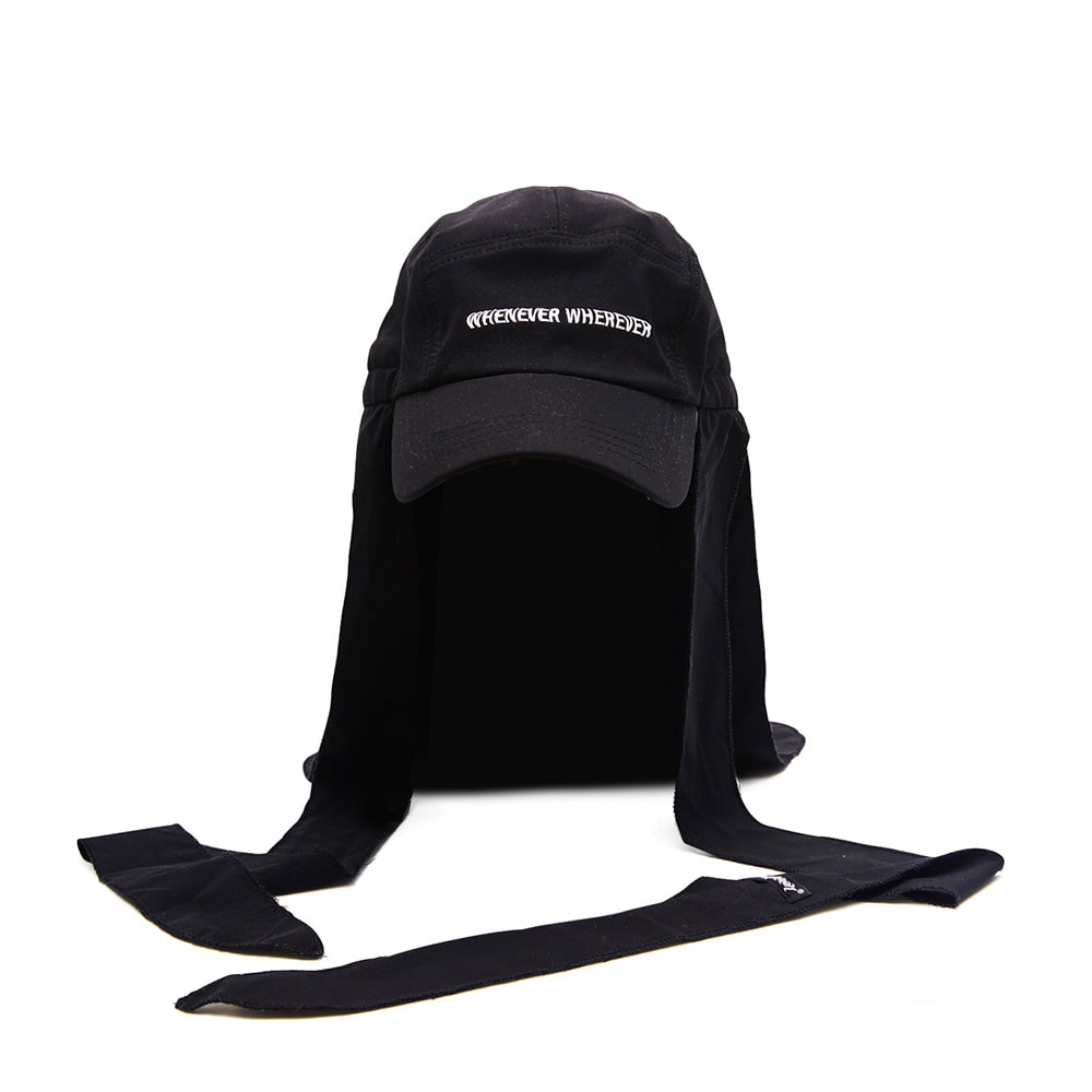 WEWE DURAG FISHING WITH ENF CAP BLACK
