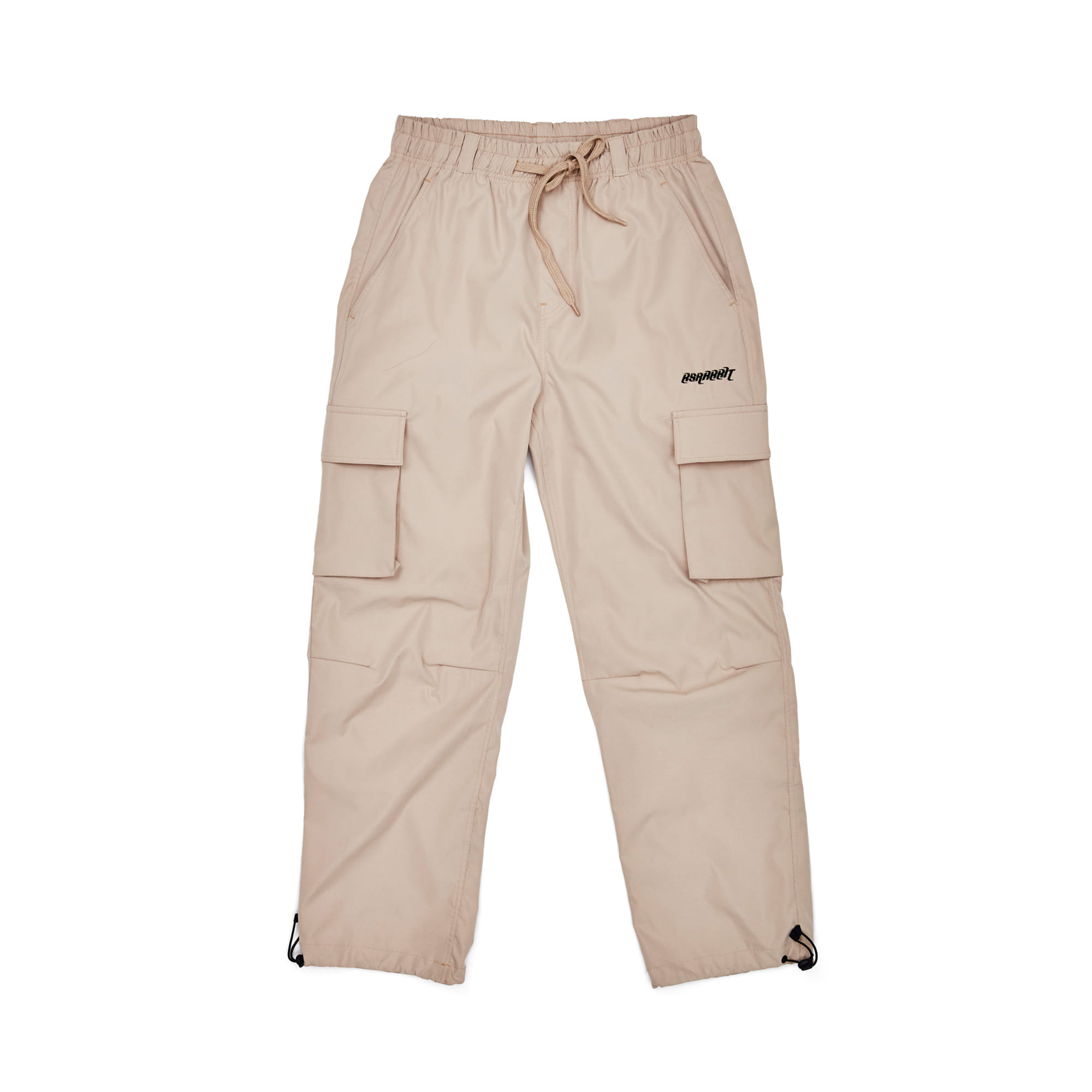 BSRBT STRETCH TWILL CARGO TRACK PANTS BEIGE